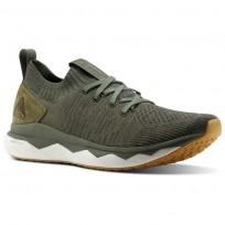 Reebok Floatride RS ULTK Lifestyle Shoes Mens Hunter Green/Coal/Ironstone/White (929HBGOZ)