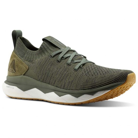 Reebok Floatride RS ULTK Lifestyle Shoes For Men Green/Grey/White (929HBGOZ)