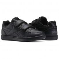 Reebok Royal Prime Shoes For Kids Black/Grey (929ORMZS)