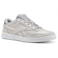 Reebok Royal Techque Shoes Womens Silver Metallic/White/Lgh Solid Grey (929TJUWP)