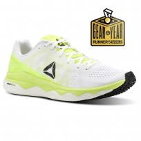 Reebok Floatride Run Running Shoes Womens Solar Yellow/White/Black (933VFMWL)