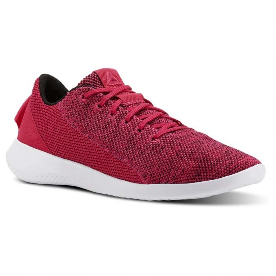 Reebok Ardara Walking Shoes For Women Rose/Black/White (944NQDFI)