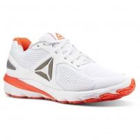 Reebok Harmony Road Running Shoes Mens White/Atomic Red/Pewter/Skull Grey (946PETWH)