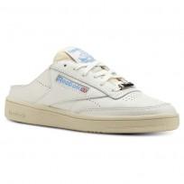 Reebok Club C 85 Shoes Womens Chalk/Paperwhite/Athletic Blue (949KMETV)
