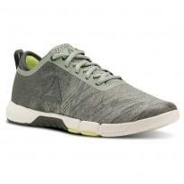 Reebok Speed Training Shoes Womens Industrial Green/Chalk Green/Chalk/Lemon Zest (951LPNZJ)
