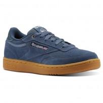 Reebok Club C Shoes For Kids Dark Blue (960KLOWZ)
