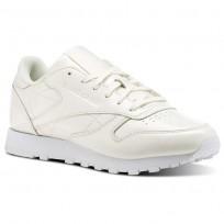 Reebok Classic Leather Schuhe Damen Weiß (962CSHQT)