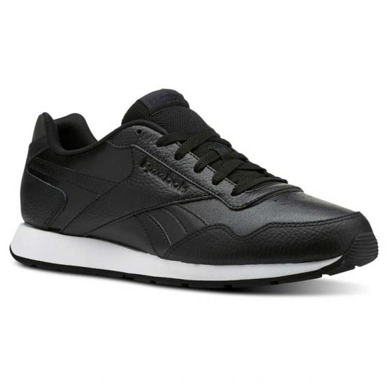 Reebok Royal Glide Shoes Mens Nm-Black/White/Reflective (966UPVKE)