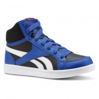 Reebok Royal Prime Shoes Boys Coll Royal/Black/White/Primal Red (969HEWUP)