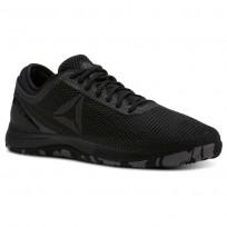 Reebok CrossFit Nano Shoes Mens Black/Shark/Atomic Red (980LYCSR)