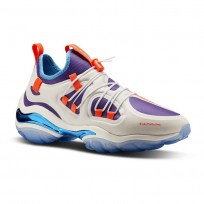Reebok DMX Series 2000 Shoes Mens Chalk/White/Royal Orchid/California Blue (995KRYUG)